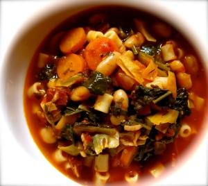 minestrone bowl
