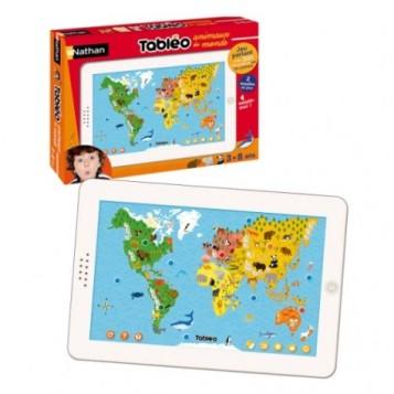 La tablette tactile des enfants pour decouvrir les animaux du monde et apprendre à les reconnaître!