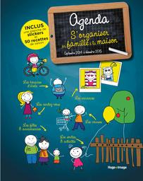 l'agenda, 11,95€ dispo ici : http://www.hugoetcie.fr/Hugo-Image/Catalogue/Agenda-s-organiser-en-famille-2013-2014