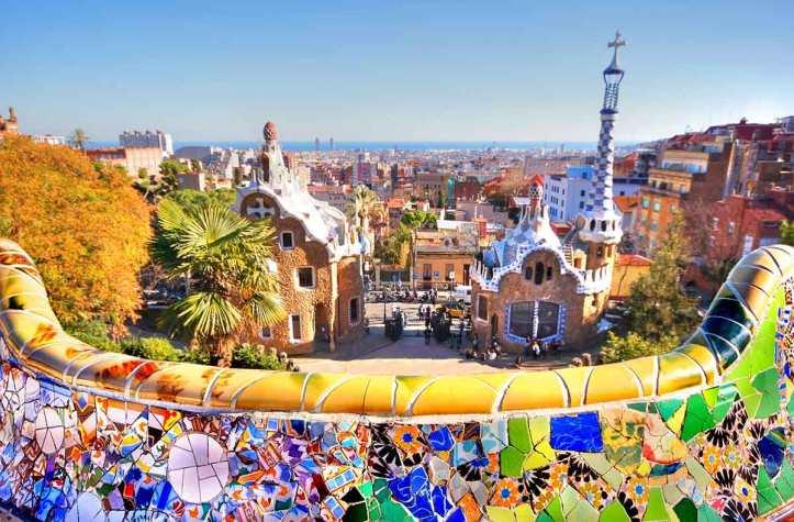 Espagne-Barcelone-Parc-Güell-2