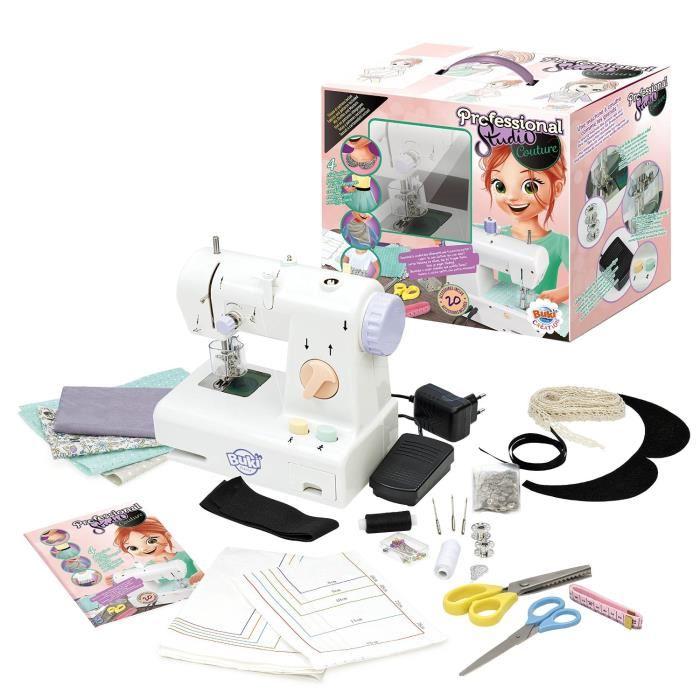 On a test la machine coudre buki cadeaux no l enfant for Machine a coudre 10 ans