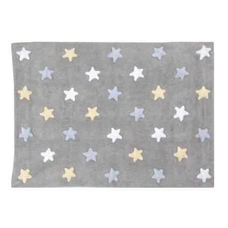Le tapis étoilé aux dimensions généreuses